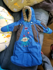 Bunting bag/snowsuit