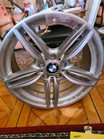 Genuine bmw alloy wheel 8.5JxR19 351m I have my others for sale