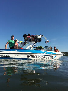 WakeSetter VLX 410hp Indmar with ONLY 50hrs!!