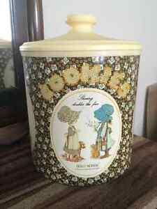 Holly hobbie cookie tin