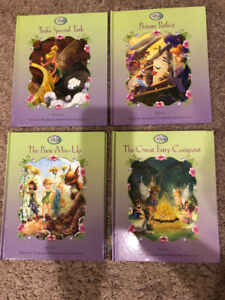 Set of 4 Tinker Bell Books - IN TIME FOR CHRISTMAS