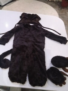 Monkey costume for 24 months old baby - $10