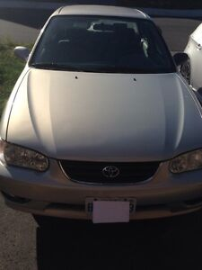 2001 Toyota Corolla LE as-is