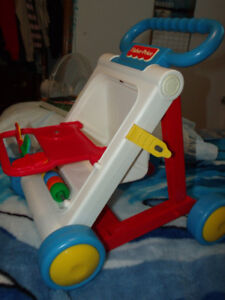 Fisher Price activity toy, walker