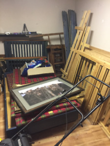 children real wood beds and IKEA bunk beds