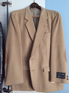 Sport Coat/ Blazer - Camel Hair - NEW