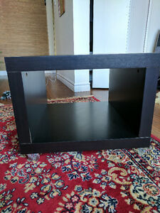 IKEA - LACK - side tables - Black (x2)