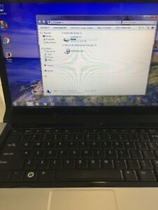 Dell laptop (dark navy blue) 500 gb hard drive , hdmi,win 7