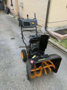 Poulan Pro 24 inch 179.cc  Two Stage  Gas Snowblower