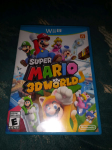 Super Mario 3D World for Wii U $20
