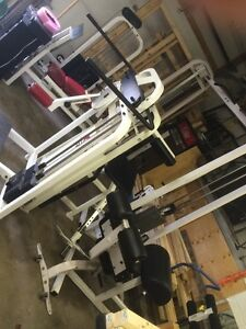 Bunch or workout equipment