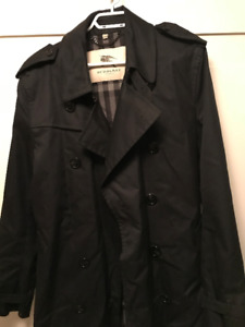 Burberry London mens trench coat size 54