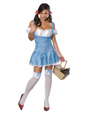 Adult Secret Wishes Dorothy Fancy Dress Costume Wizard of Oz Ladies Female BN - Female Magician Costume