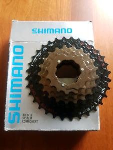 Break pads and shimano gears