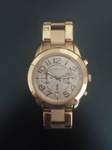 MICHAEL KORS Oversized Rose Gold-Tone Ladies Watch - $180 OBO