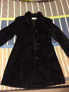 Michel Rene Long jacket coat winter Black woman