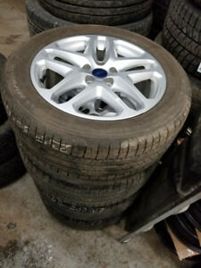 235 50 17  / OEM 5 x 108 Ford Fusion alloy rims / TPMS in stock