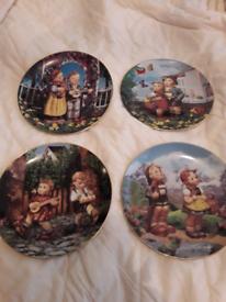 Hummel Children plates