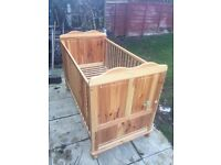Cot bed £25 Ono