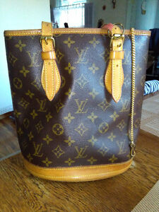 Original Louis Vuitton vintage bucket bag