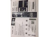 The XX tickets (2)