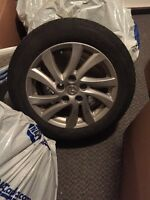 205/55/16 TIRES AND RIMS