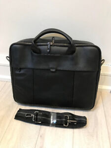 Dell Leather Laptop Bag - BRAND NEW