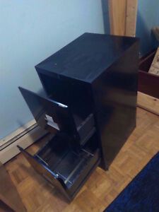 2 Drawer All Steel Filing Cabinet - BLACK > Grand & Toy > 9.9/10