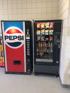 Snack and soft drink vending machines for sale