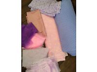 Joblot / Job lot of plain fabrics