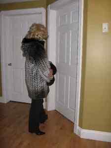 Womans Winter Coat - Nuage fun fur