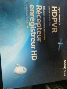 Shaw Direct HD PVR 320gb hard drive