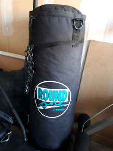 Heavy punching bag and Bowflex Ultimate