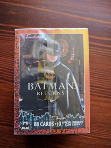 Topps Batman Returns Trading Cards Complete Set 1992