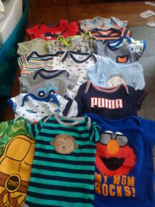 0-3mths boys clothing