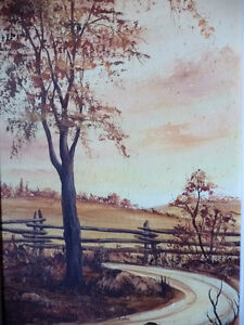 3 Original Oil Paintings from a Series by O.J. Coghlin Stratford Kitchener Area image 3
