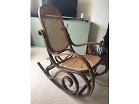 Bent wood rocking chair £50