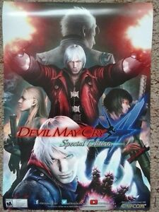 Devil May Cry : Special Edition poster - one sided
