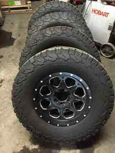 Fuel wheels with new bfg all terrains