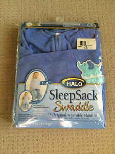Fleece sleep sack size Small