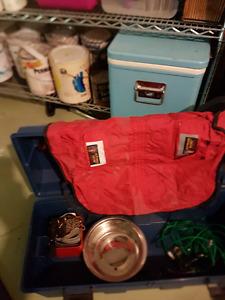 Tool Box Full of Pet Accessories