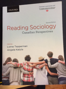 Reading Sociology Canadian Perspectives Second Edition
