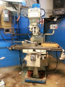 FERRO Milling Machine/POWERTURN Engine Lathe/ANDERSON Phase Conv