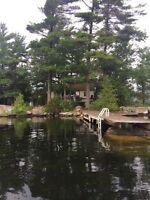 Private island for rent Lower Buckhorn lake
