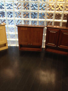 SOLID WOOD LINEN TOWER CABINETS and WALL CABINETS ON SALE !!! Cambridge Kitchener Area image 4