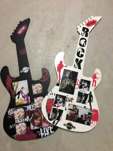 Guitar Picture Collage Frame (set of 2 sold as package)