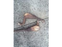 Ford Capri 2.8i exhaust down pipes