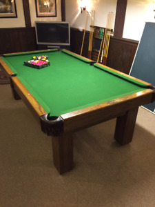 POOL TABLE / SNOOKER TABLE / PING PONG TABLE - COMBO