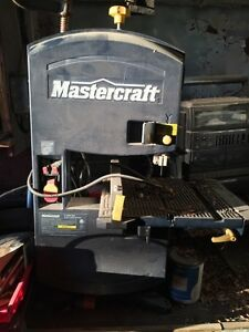 "Mastercraft 9"" band saw."