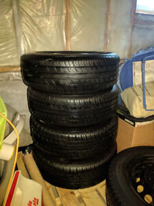 185/65 R14 4x100 All season tires with rims - GREAT CONDITION!!!